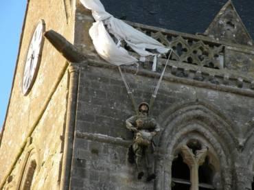 Altijd een beetje D-Day in Sainte-Mère-Eglise